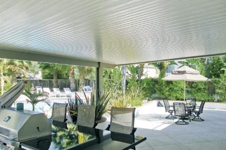Newport Solid Roof Pergola