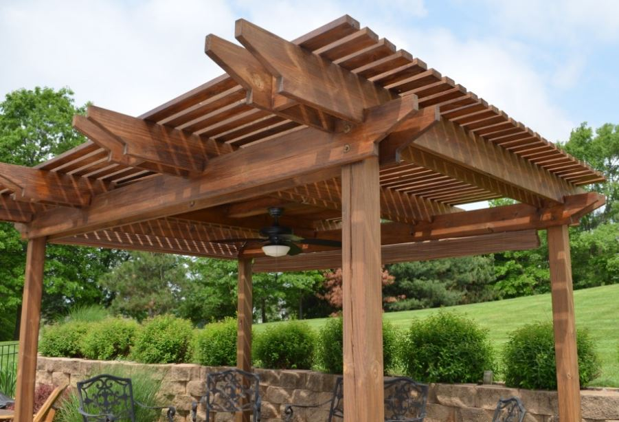 Pergola Wood Type - Wood Patio Covers, Pergolas, Awnings